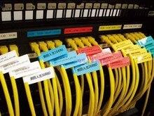 FTTH narzędzie światłowodowe kabel sieciowy etykiety naklejka 900 sztuk 30 sztuk A4 rozmiar kolor pusta etykieta wodoodporna Tearproof olejoodporny