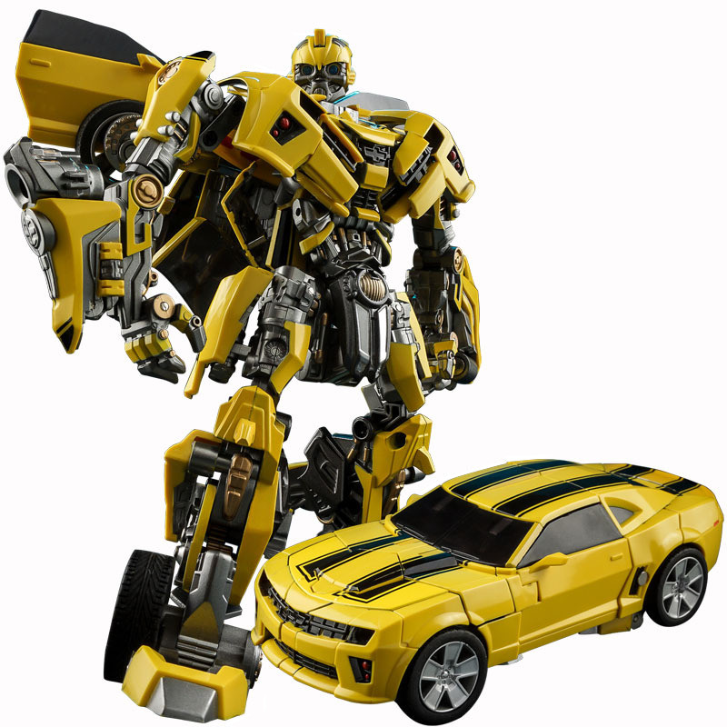 Wei jiang Cool Alloy Transformation kid toy Movie 5 Alloy robot car Model Anime Action Figures