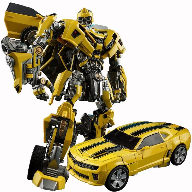 魏江クール合金変換子供のおもちゃ映画 5 合金ロボット車モデルアニメアクションフィギュア少年のおもちゃギフトオリジナルボックス  グループ上の おもちゃ & ホビー からの アクション & トイ フィギュア の中 1
