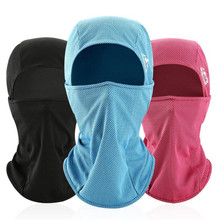 New Motorcycle Face Mask Ice Fabric Summer Headgear UV protect Sweat Absorption Riding Outdoor Sports Equipment Cyclin