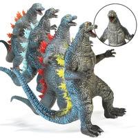 35cm 4 Co'lo'r's Large Realistic Dinosaur Toys Model Action Figures Soft Vinyl Plastic Dinosaur Model for Kids