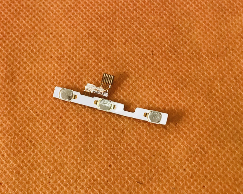 Used Original Power On Off Button Volume Key Flex Cable for LEAGOO T5C <font><b>SC9853</b></font> Octa Core 5.5