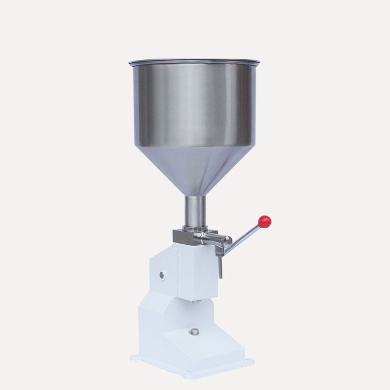Mini Manual Paste Filling Machine Liquid Filling Machine Cream Filling Machine Sauce Jam Nail Polish Filling Machine 5 - 50ml zonesun 5 50ml manual filling machine small paste filling machine quantitative liquid filling machine for cream shampoo honey