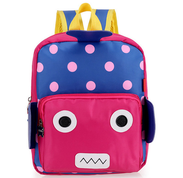 New Cute Robot Toddler Backpack kids Baby Kindergarten School Bag Book Bag  Waterproof Children Backpacks Boys Girls Gifts 384de6d0a8c42