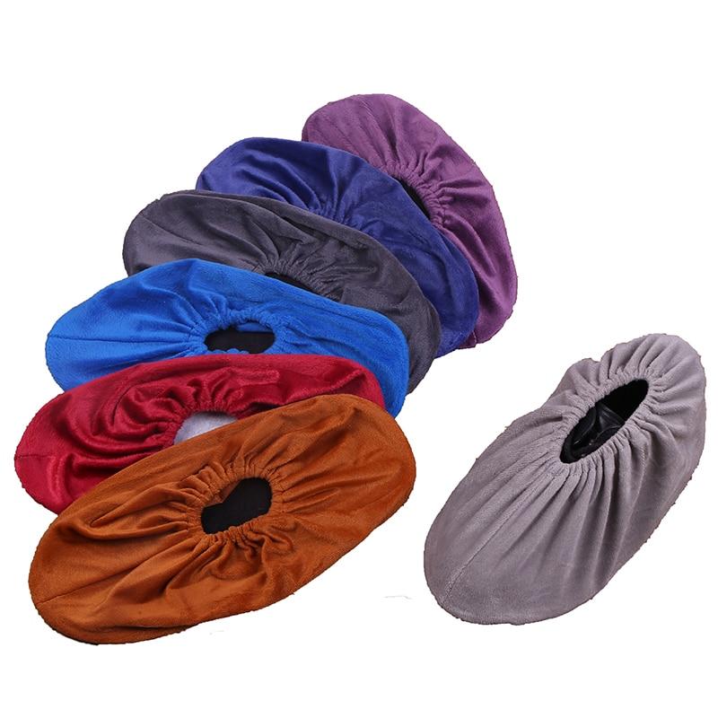 1 Para Atmungsaktive Anti-slip Haushalt Waschbar Wiederverwendung Schuh Abdeckungen Bunte Teppich Hause Außen Saubere überschuhe Reise Schuh Abdeckungen