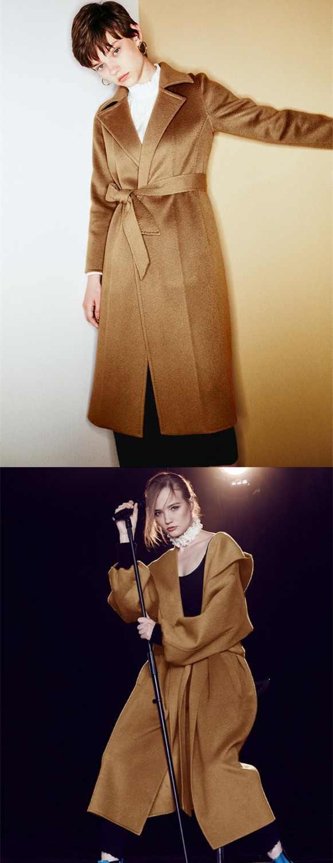 Braun silk wasser welligkeit kaschmir stoff herbst und winter mantel wolle stoff natürliche kaschmir tuch großhandel wolle tuch
