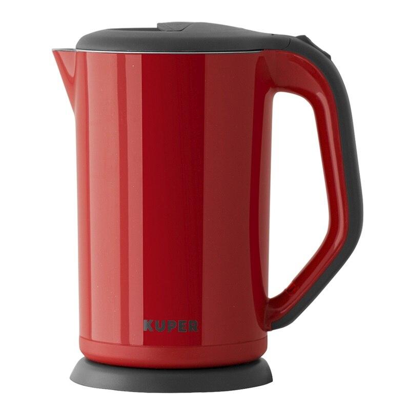 цены на Чайник электрический KUPER, KU1900R, 1800W, 1,7 л  в интернет-магазинах