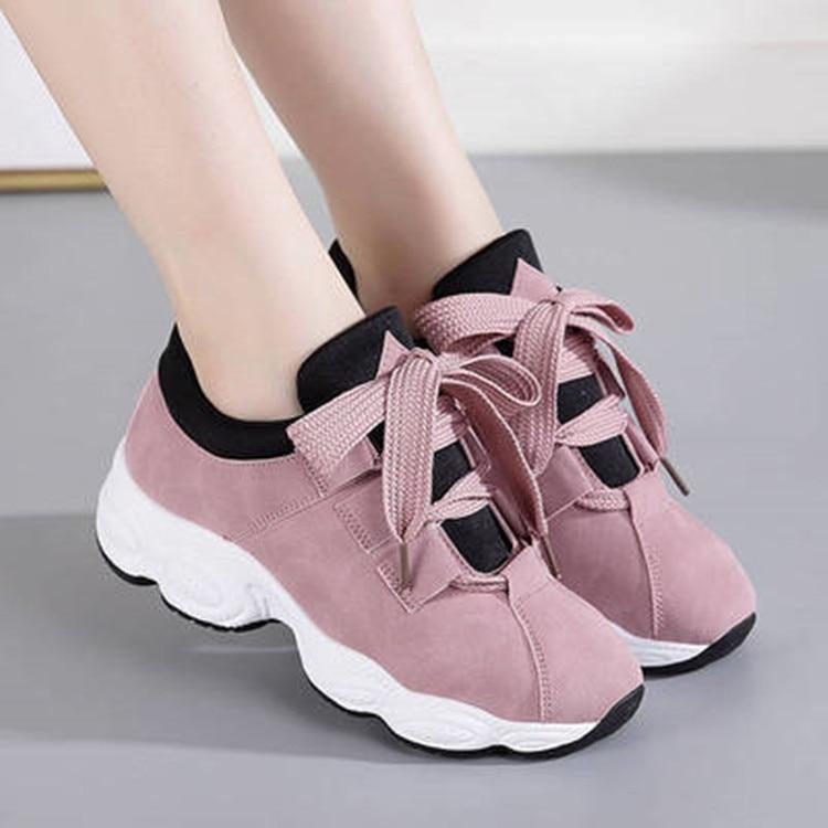 Fur Femmes pink Chaussures Sapato Pointu Harajuku Xz806 grey Black Donna Xz806 white Appartements forme Sneakers Scarpe Casual 2018 Xz806 Xz806 black Xz806 Feminino Plate Automne qwAgqxrFP