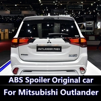 For Mitsubishi Outlander Spoiler 2013 2014 2015 2016 spoiler high quality ABS Material Car Rear Wing Primer Color Rear Spoiler