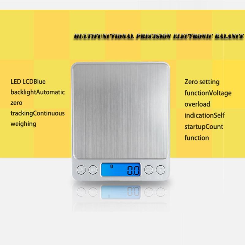 Bilancia elettronica digitale Bilancia tascabile Bilancia da cucina - Strumenti di misura - Fotografia 2