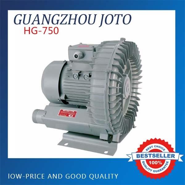 Cast Aluminum 220V Electric Vortex Blower 120M3/H High Power Pump Centrifugal Fan HG-750