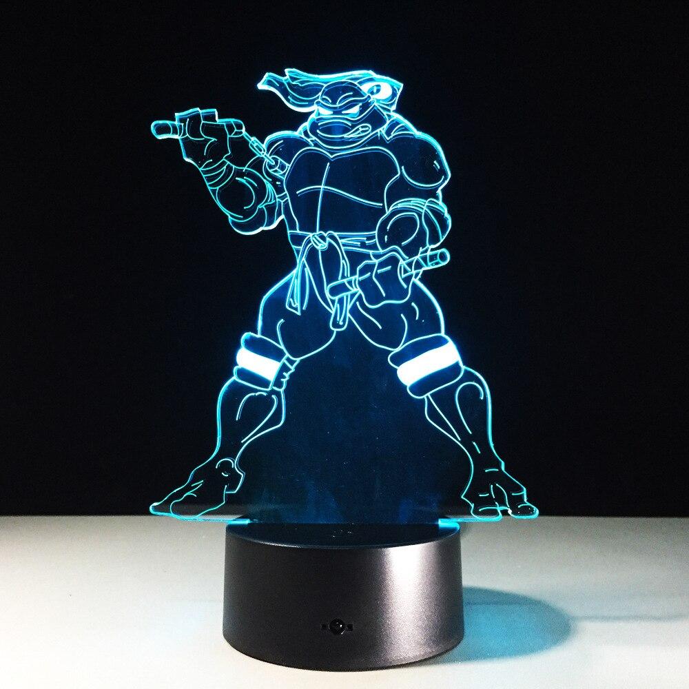 Teenage Mutant Ninja Turtles 3D Lamp With 7 Colors Change Effect In Night  Lights From Lights U0026 Lighting On Aliexpress.com   Alibaba Group