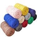 200g New Fancy Yarns Soft Thick Yarn Hand Knitting Cotton Cloth Yarn Ribbon DIY Bag Rugs Carpet Cushion Basket Crochet Thread