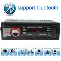 12V Car Radios Stereo FM Radio MP3 Audio Player Built In Bluetooth Function Handfree USB SD