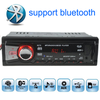12V Car Radios Stereo FM Radio MP3 Audio Player Built In Bluetooth Function Handfree USB SD