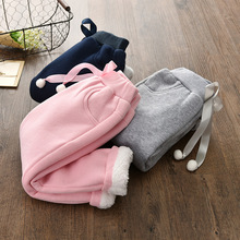 Girls leggings Winter Cotton boys Pants Baby Clothes sweatpants Warm Thicken Trousers  kids leggins girl 3-7T 3 colors
