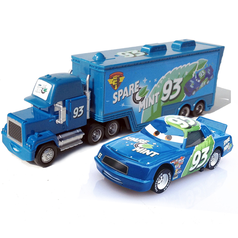 kids cute car toys metal no93 uncle jimmy race car driver container truck and