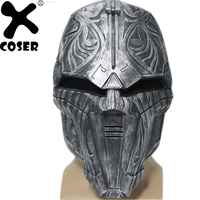XCOSER Star Wars Sith Acolyte Cosplay Mask Star Wars the Old Republic Cosplay Costume Accessory Helmet Halloween Mask for Adults