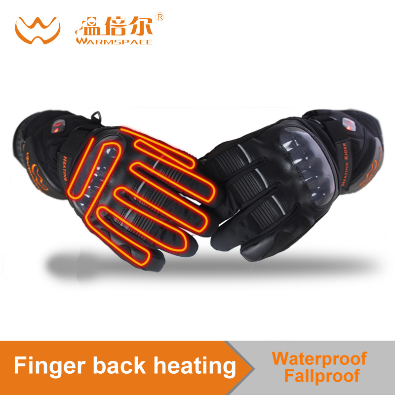 Motorcycle gloves heated riding racing bicycle Ski winter Outdoor Waterproof Sports Electric battery Heating Gloves TouchscreenMotorcycle gloves heated riding racing bicycle Ski winter Outdoor Waterproof Sports Electric battery Heating Gloves Touchscreen