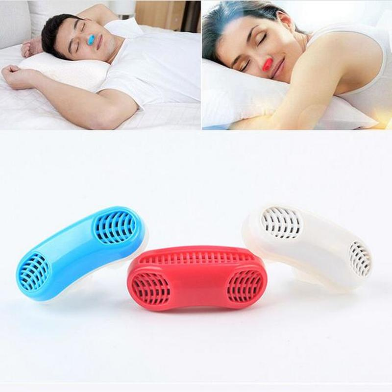 Mini Snoring Device  Silicone Ventilation Nose Relieve Nasal Congestion Effective Snoring Solution Device