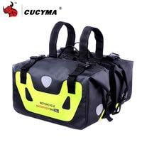 CUCYMA Motorcycles Bag 50L Motorcycle Waterproof Saddle Bags Moto Racing Travel Luggage Multi Function Motorbike Saddlebags