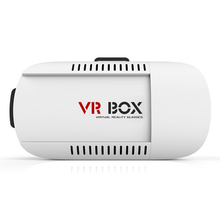 2016Google Cardboard VR Gear Virtual Reality 3D Mobile Phone 3D Glasses 3D Movies Games With Resin Lens