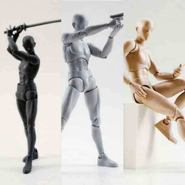 15cm Archetype He Archetype She Ferrite SHFiguarts BODY KUN BODY CHAN Ver action figure toy collector Christmas with box