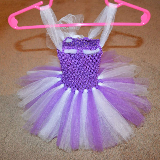 Baby Tutu Dress Newborn Girl Photography Props 1st Birthday Costume Outfit Shower Gift