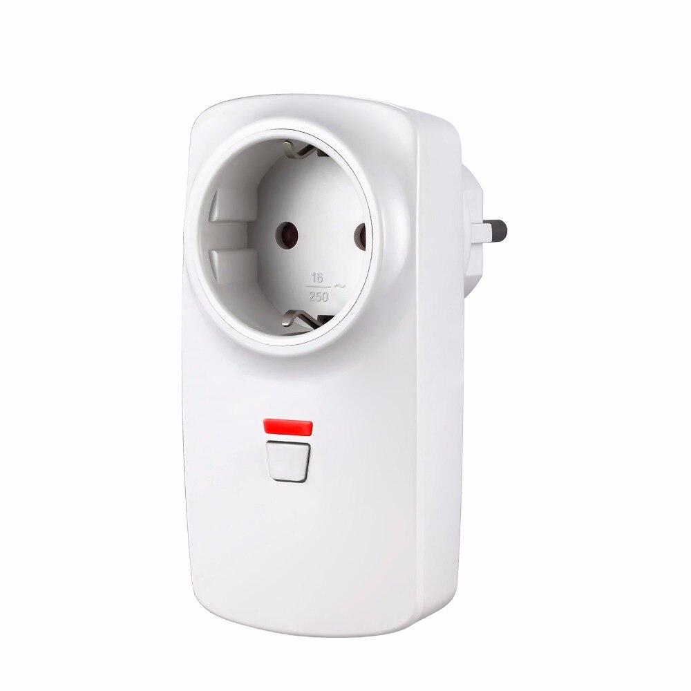 Wireless Remote Control Smart Wireless Socket EU/AU/US/UK Adapter Switch Plug Outlet for Wifi GSM Alarm System G90B