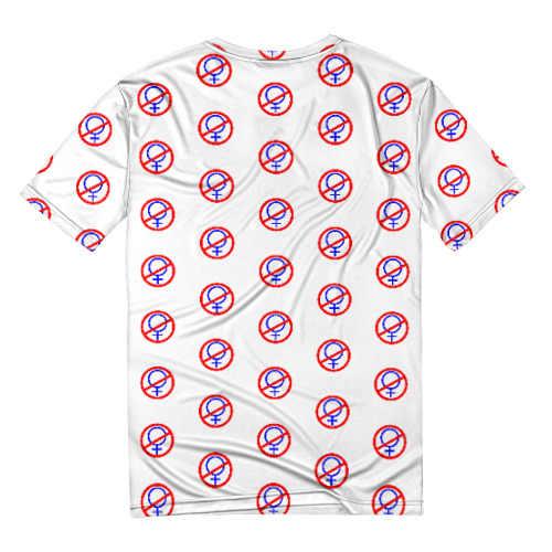 Baru 2019 Pria Merek 3D T-shirt Lucu Surat Rusia Tanpa Ada Wanita Dicetak T Shirt Kaos Hipster Musim Panas Atasan tees
