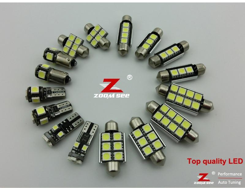18 шт. Canbus светодиоды для педалей лампа+ внутренняя карта свет комплект для Mercedes M класса W164 ML320 ML350 ML420 ML450 ML63 AMG(2006-2011