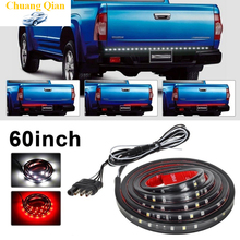 Accessories Waterproof 60 Red white Tailgate LED Strip Light Bar Reverse Brake Turn Signal Tail for