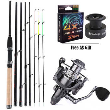 Sougayilang 3.0M Feeder High Carbon Rod Sets with Spinning Reel 3 Sections L M H Power Fishing Rod Combon Feeder Rod Pesca - DISCOUNT ITEM  49 OFF Sports & Entertainment