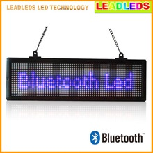 21″ X 6.3″ Bluetoth LED Sign Scrolling Message Board Programmable by Android Mobilephone APP