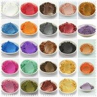 42 màu sắc hỗn hợp khỏe mạnh khoáng thiên nhiên bột mica Tự làm cho xà phòng thuốc nhuộm xà phòng màu, trang điểm 1 nhiều =5g/10g*42 màu sắc =210g/420g