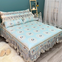 Luxury Lace Bedding 3pcs Bedspread Bed Linen Pillowcase European style Bedclothes bed cover King Queen full size