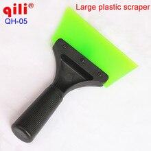 QILI QH-05 Window Tint Strumento Maniglia In Plastica Scraper Con 12.5 cm strisce tendine Neve Lama Pala E Vetro Strumenti di Pulizia
