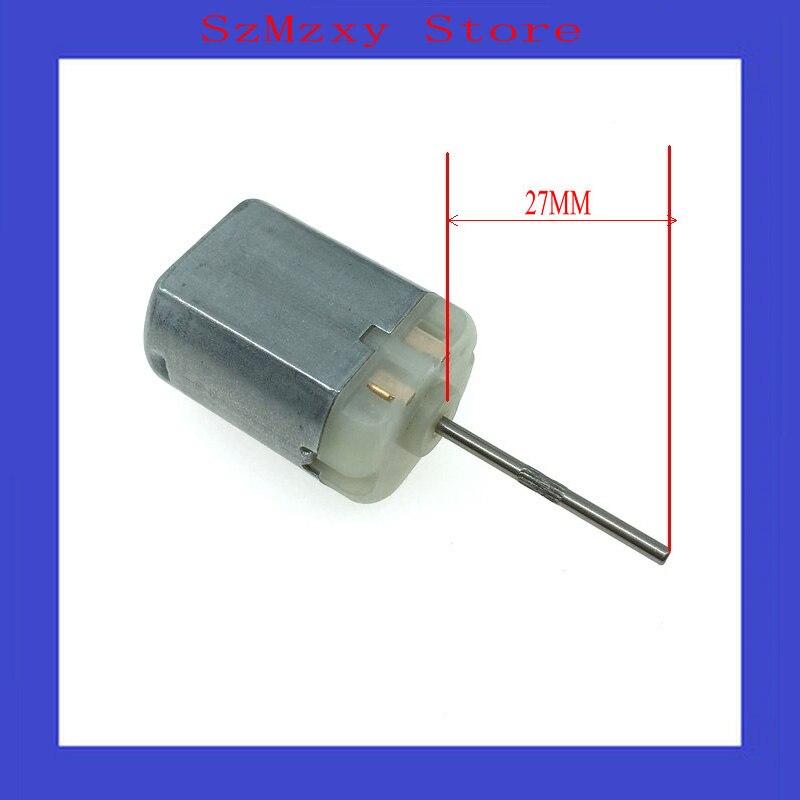 все цены на 1PCS/Lot Car 280 The shaft 27MM FC280 FC-280 12V Miniature dc locomotive lock rear-view mirror with motor high speed motor онлайн