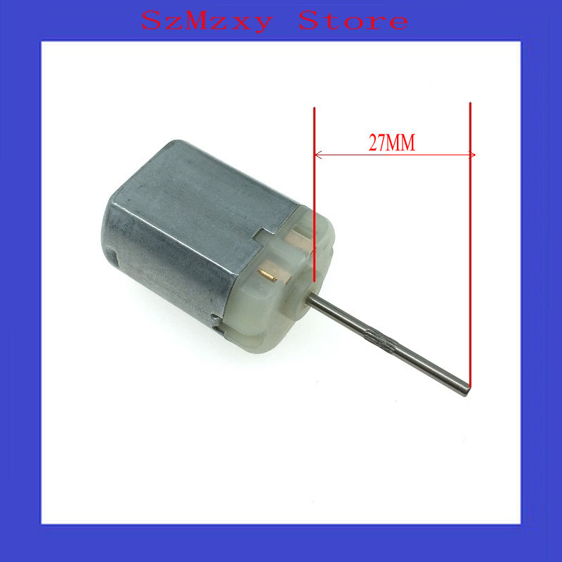 1PCS/Lot Car 280 The shaft 27MM FC280 FC-280 12V Miniature dc locomotive lock rear-view mirror with motor high speed motor image