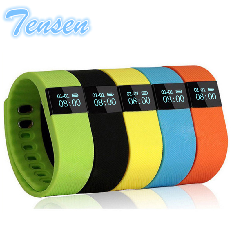 TenSen TW64 Fitness Tracker Bluetooth Smartband Sport Bracelet Smart Band Wristband Pedometer For iPhone IOS Android PK Fitbit