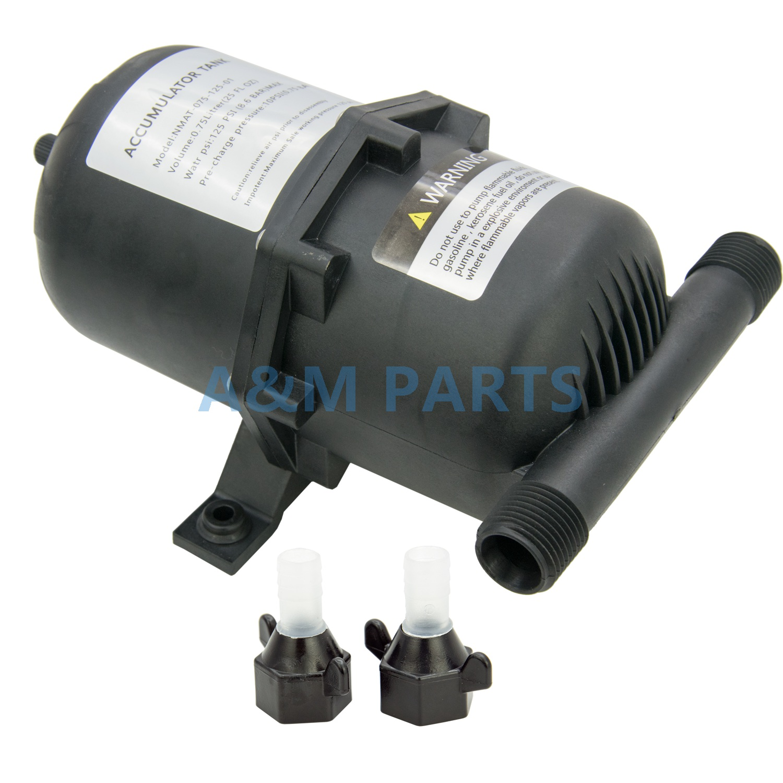 Bateau accumulateur d'eau réservoir Marine RV réservoir pressurisé pompe à eau accumulateur