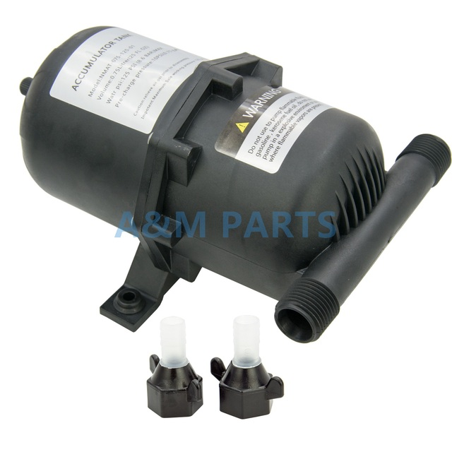 Boat Water Accumulator Tank Marine RV Pressurized Tank Water Pump Accumulator