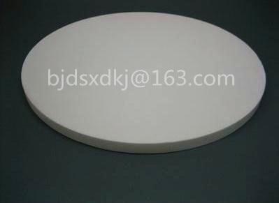 цена 99% Alumina Ceramic Plate , Circular , Insulated , Wear-resisting , diameter=250mm