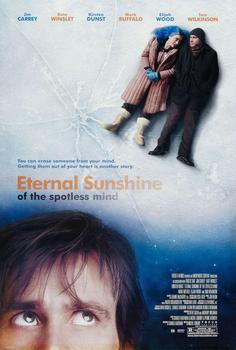 N1304 wieczne SUNSHINE z nieskazitelnej umysł Movie naklejki ścienne tkanina jedwabna plakat Art kryty Decor jasne