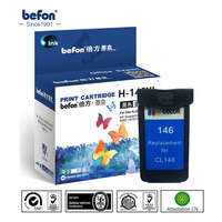 befon Re manufactured 146 Cartridge Replacement for Canon CL 146 CL146 Color Ink Cartridge for MG2410 2410 2510 IP2900 Printer