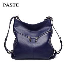 2017 Genuine Leather Bag Female Bags Handbags Women Famous Brands Shoulder Bags  Women Bag Female Bolsa Feminina free shipping