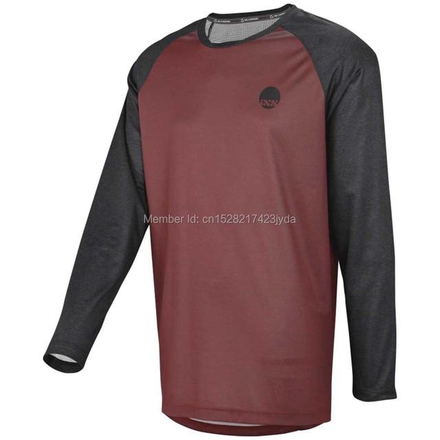 2019 maillot moto vtt descente JerseyOffroad longue moto motocross course aller pro cyclisme maillot hombre longT-shirt