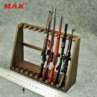 1 6 Scale Accessories Display Weapon Rifle Toy Model Stand Shelf For Long Rifle Figure Not