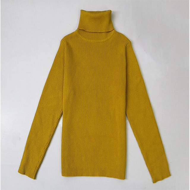 1e87ef0fc986 Autumn Baby Girls Boy Turtleneck Sweaters 1 6Yrs Kids Sweaters For ...