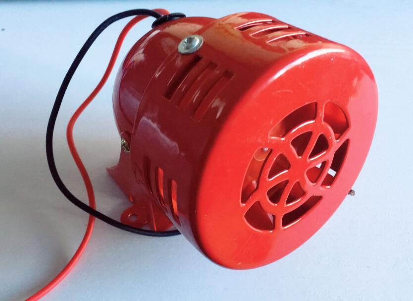 motor alarm Fire alarm MS-190 120dB metal shell Metal Alarm Buzzer DC12V DC24V